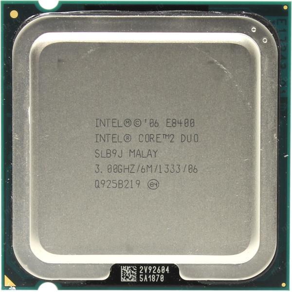 پردازنده مرکزی اینتل سری Wolfdale مدل E8400