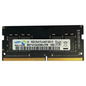 رم لپ تاپ DDR4 تک کاناله 2400 مگاهرتز سامسونگ مدل PC4 ظرفیت 16 گیگابایت