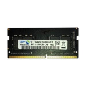 رم لپ تاپ DDR4 تک کاناله 2666 مگاهرتز CL15 سامسونگ مدل PC4 ظرفیت 16 گیگابایت
