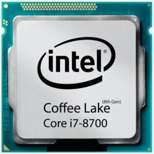 پردازنده مرکزی اینتل سری Coffee Lake مدل Core i7-8700