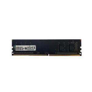 رم دسکتاپ DDR4 تک کاناله 2400 مگاهرتز cl18 کینگستون مدل kvr ظرفیت 4 گیگابایت