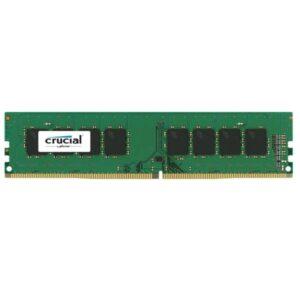 رم دسکتاپ DDR4 تک کاناله 2400 مگاهرتز CL17 کروشیال مدل Basics ظرفیت 8 گیگابایت