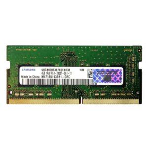 رم لپ تاپ سامسونگ مدل DDR4 2400 Mhz SODIMM ظرفیت 4 گیگابایت
