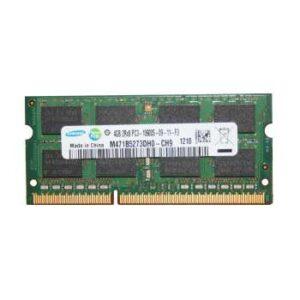 رم لپ تاپ سامسونگ مدل 1333 DDR3 PC3 10600s MHz ظرفیت 4گیگابایت
