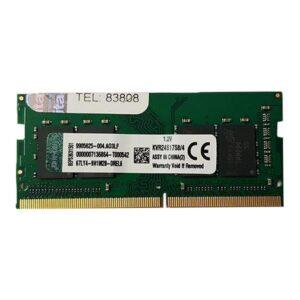 رم لپ تاپ DDR4 تک کانال 2400 مگاهرتز CL17 کینگستون مدلR008 ظرفیت 4 گیگابایت