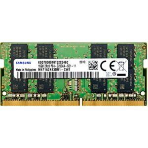 رم لپتاپ DDR4 تک کاناله 2400 مگاهرتز CL17 سامسونگ مدل 2Rx8 ظرفیت 16 گیگابایت