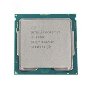 پردازنده مرکزی اینتل سری Coffee Lake مدل i7-9700K Tray
