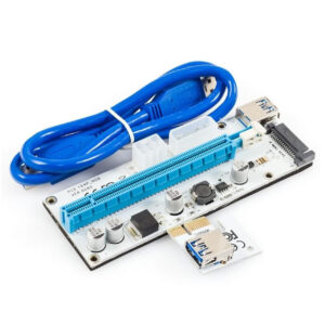 رایزر کارت گرافیک تبدیل PCIe 16X به 1X مدل 008S