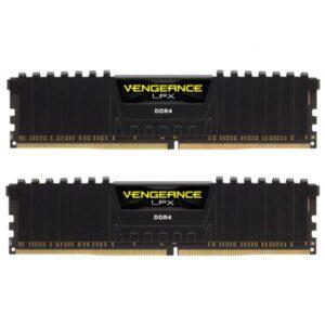 رم دسکتاپ DDR4 دو کاناله 3200 مگاهرتز CL16 کورسیر مدل Vengeance LPX ظرفیت 32 گیگابایت