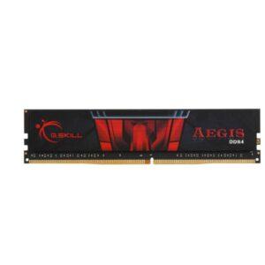 رم دسکتاپ DDR4 تک کاناله 2400 مگاهرتز CL17 جی اسکیل مدل Aegis ظرفیت 4 گیگابایت